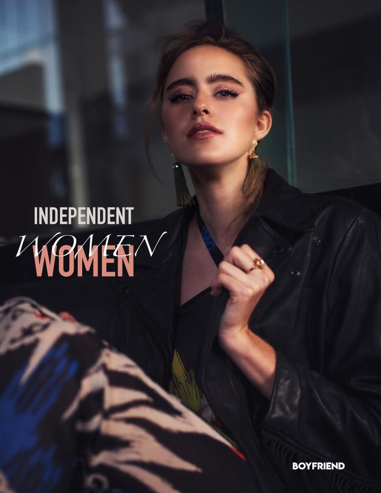 Boyfriend Mag - August 2018 - Independent Women - Rubie Lafountaine