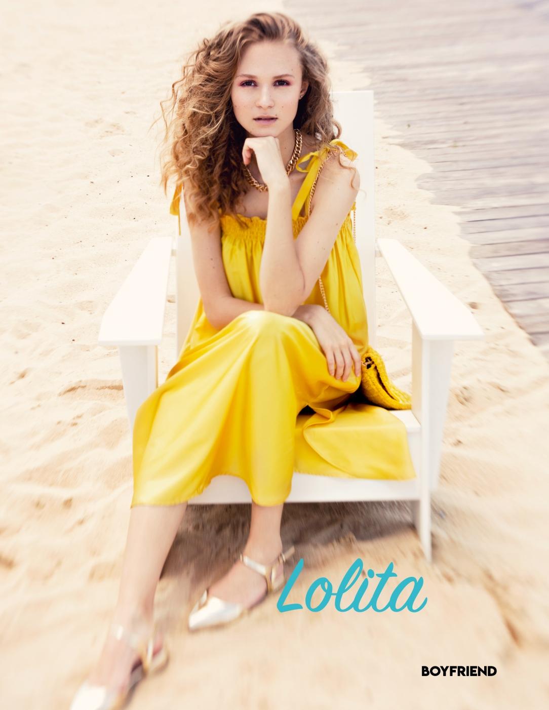 Boyfriend Mag - August 2018 - Lolita - Viktoria Bankova