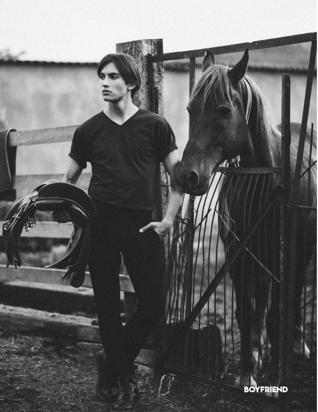 Boyfriend Mag - July 2018 - Only the Horses - Julia Chernigina5