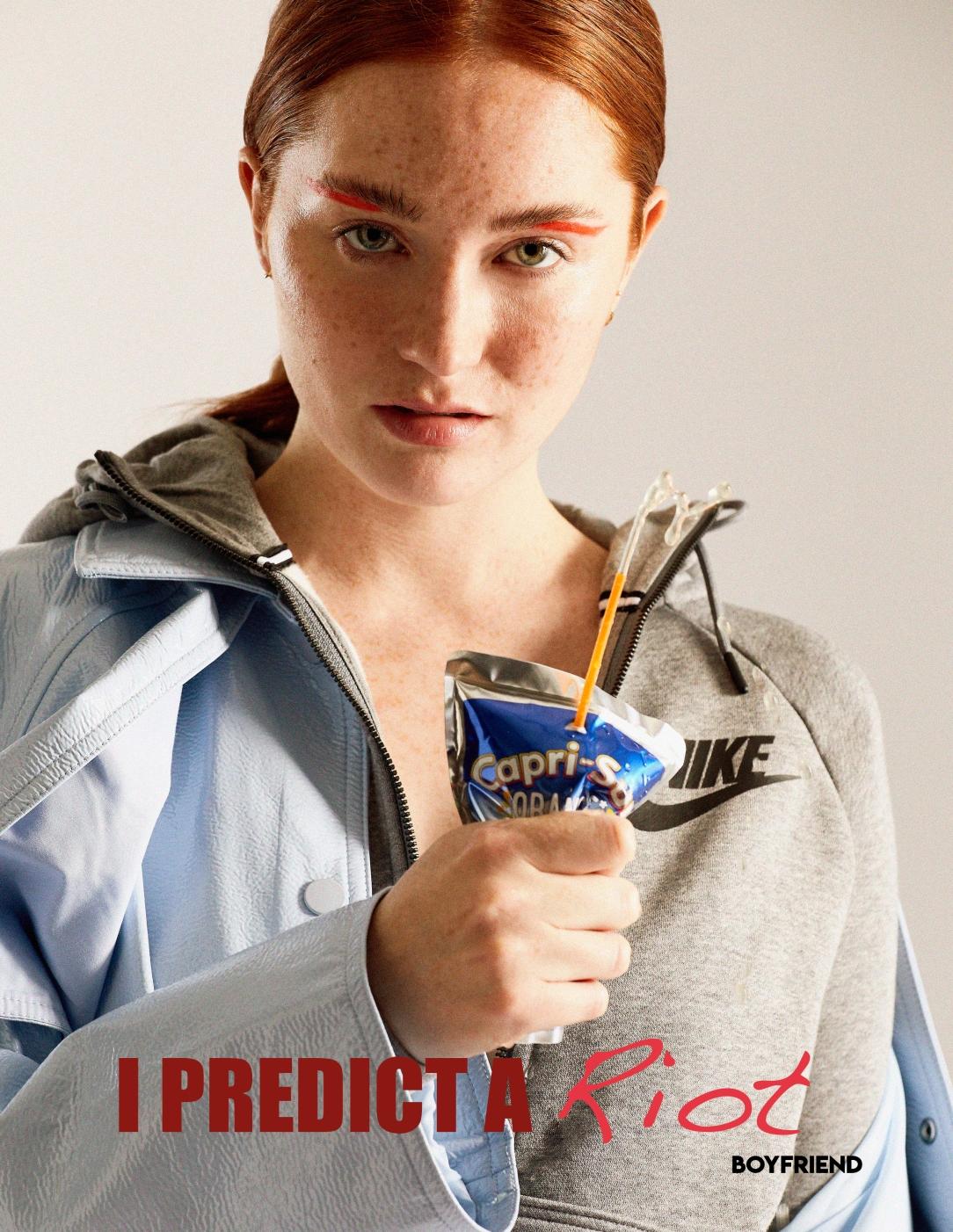 Boyfriend Mag - August 2018 - I Predict A Riot - Lacey Jayne Dennis