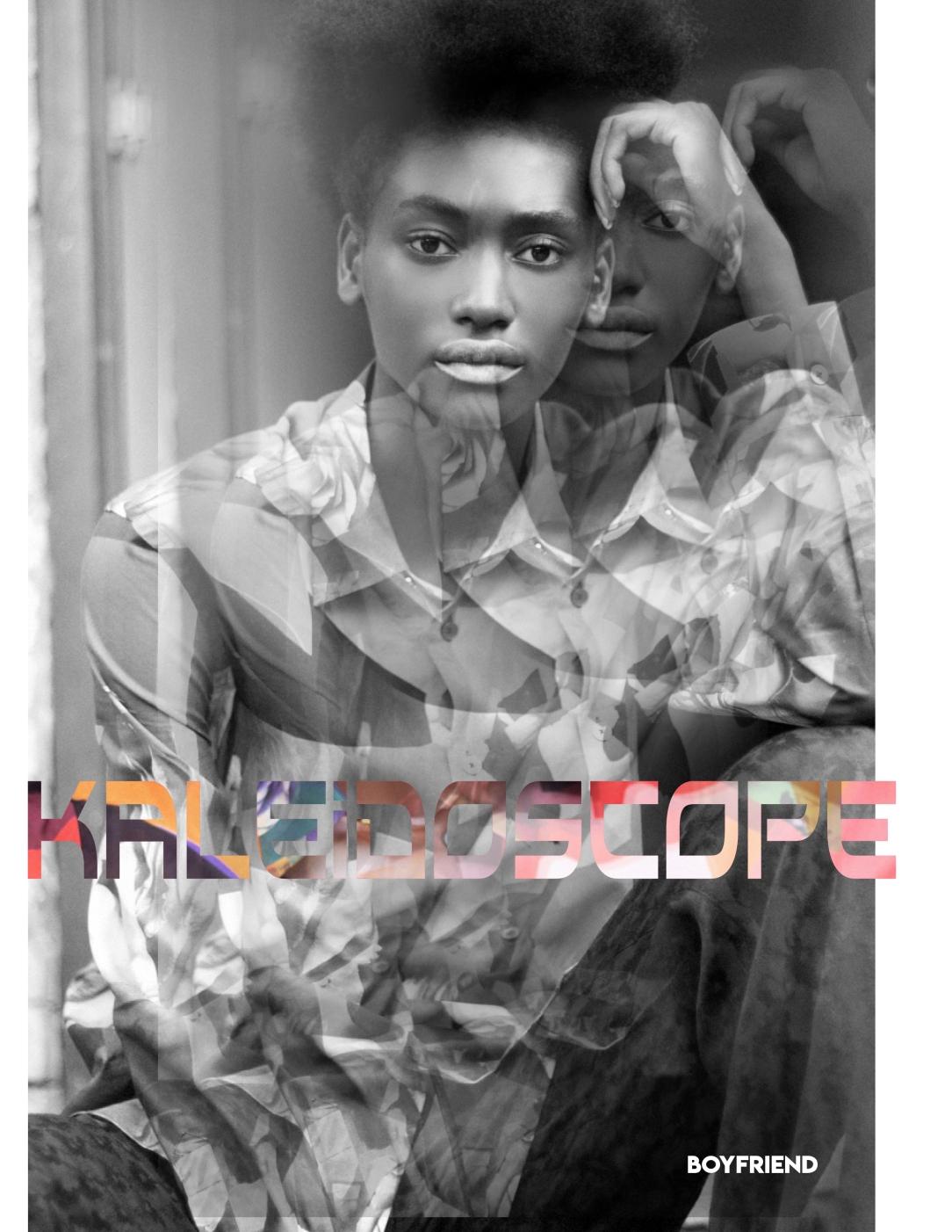 Boyfriend Mag - October 2018 - Kaleidoscope - Andrea Claire