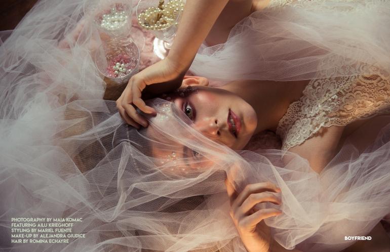 Boyfriend Mag - October 2018 - Rhiannon - Maia Komac DPS