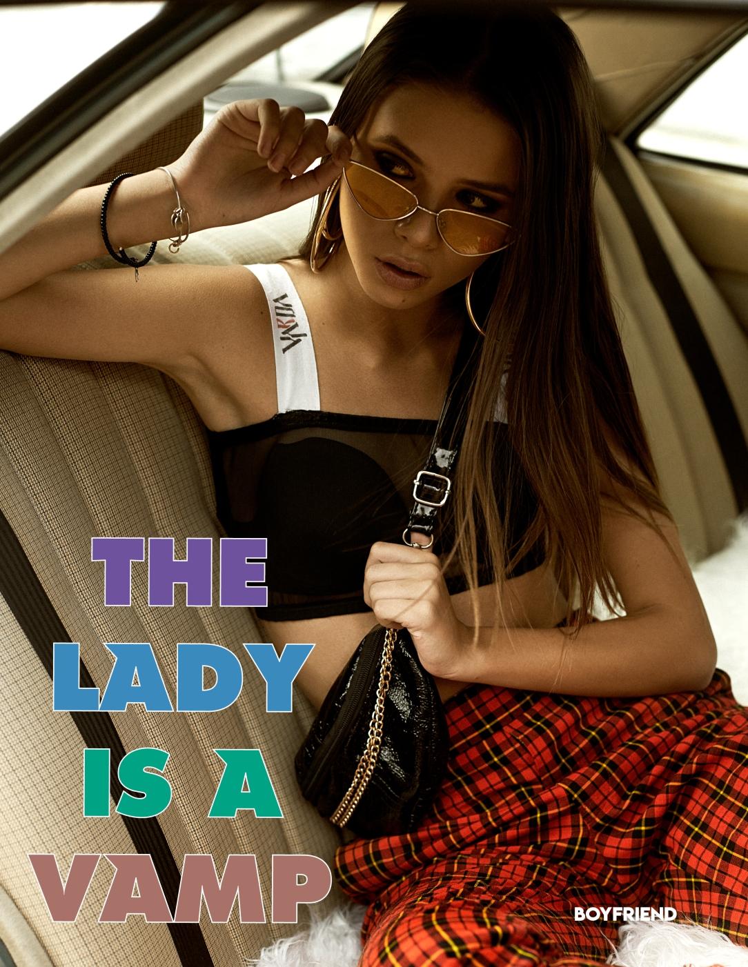 Boyfriend Mag - October 2018 - The Lady Is A Vamp - Sebastian Rojas